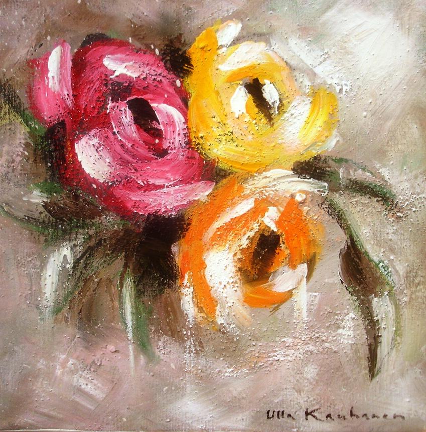 Ruusut ©Ulla Kauhanen