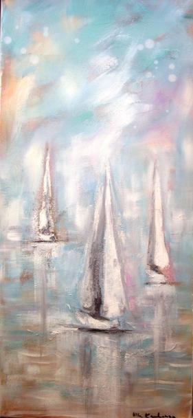 Kolme purjevenettä ©Ulla Kauhanen