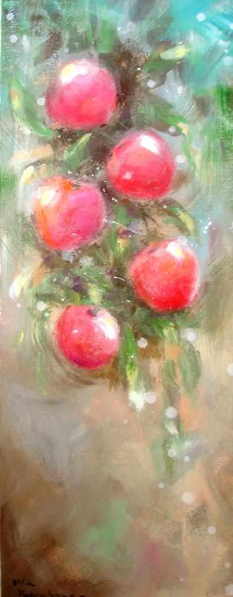 Punaisia omenoita ©Ulla Kauhanen