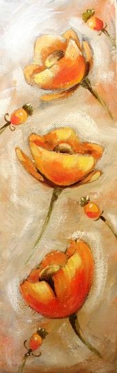 ulla kauhanen oranssit kukat